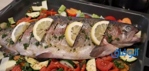 كيفية شوي السمك في المنزل