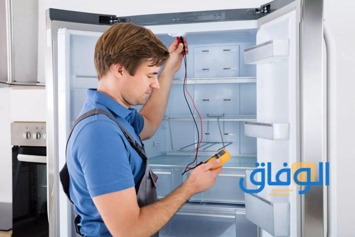 مشكلة باب الثلاجة