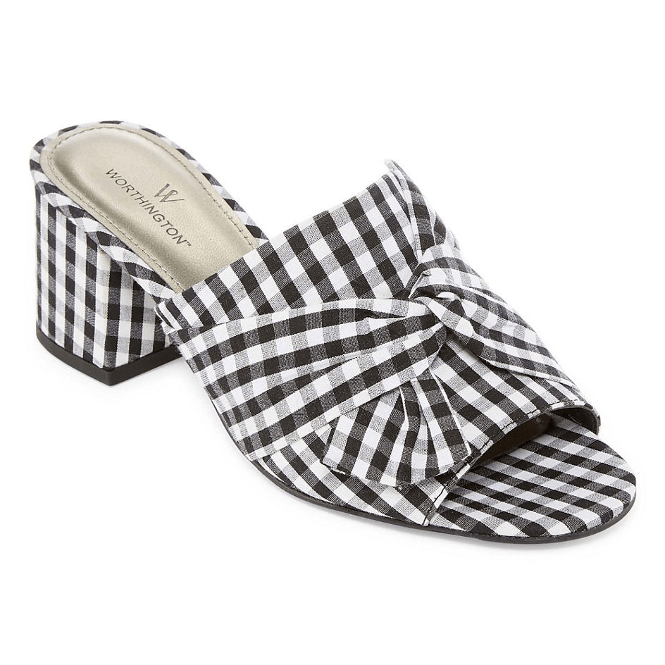 3ccd1c1fd9d6c JCPenney  Worthington Freemont Womens Mules for  15.99 + Free Shipping to  store.