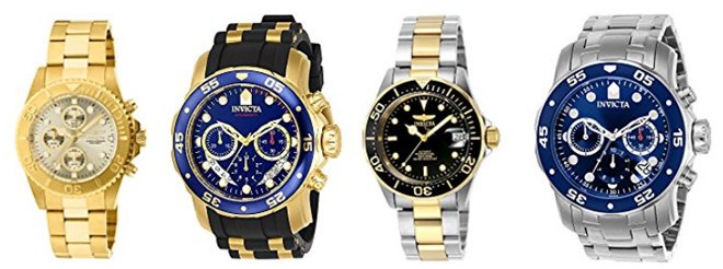 21a86a94a214 Amazon  Up to 65% Off Invicta Men s Watches + FREE Shipping ...