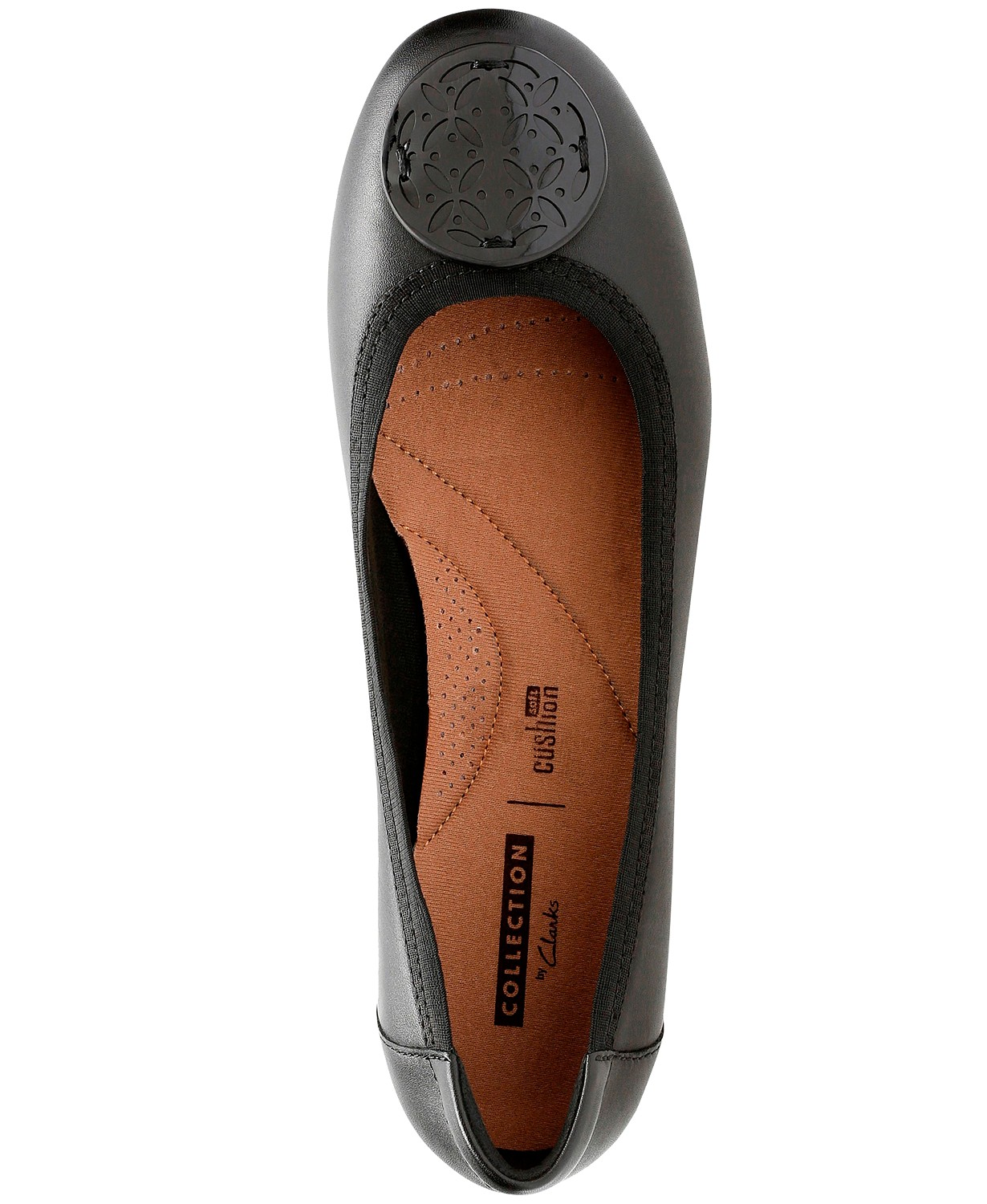 a0ea7494aa6d Macys  Clarks Collection Womens Gracelin Lola Flats for  37.93 (Was  85) +  Free Shipping.