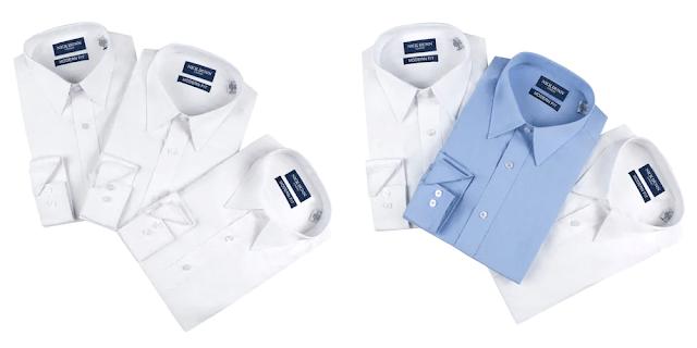 b2a095e156b61 Kohl's : Men's Nick Dunn Modern-Fit Dress Shirts 9 for $36.40 + Free ...