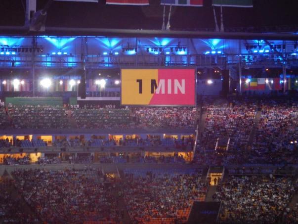 Countdown in Stadium