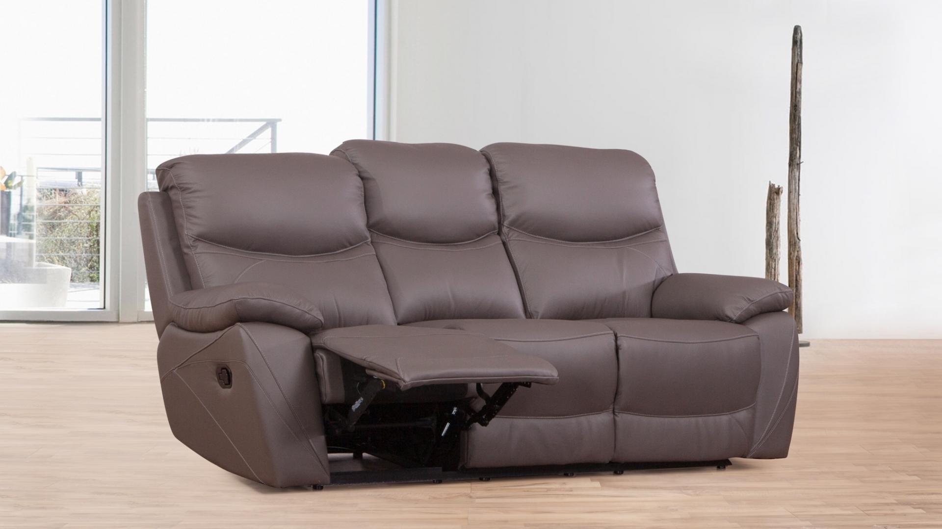 chelsea leather sofa moroni recliner three seater lounge life