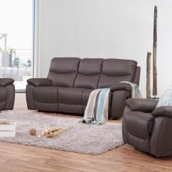 Chelsea Leather Sofa Small Corner Loveseat Recliner Suite 3 43 1 Lounge Life