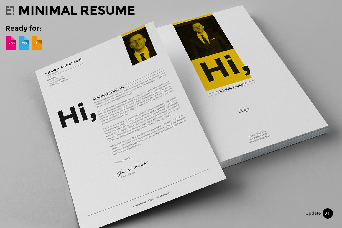 Resume Indesign What 39s Hot Bundle Vol 2 Presentation Templates