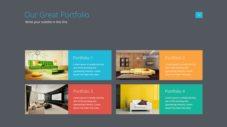 Powerpoint/Keynote Presentation Template - Dealjumbo.com ...