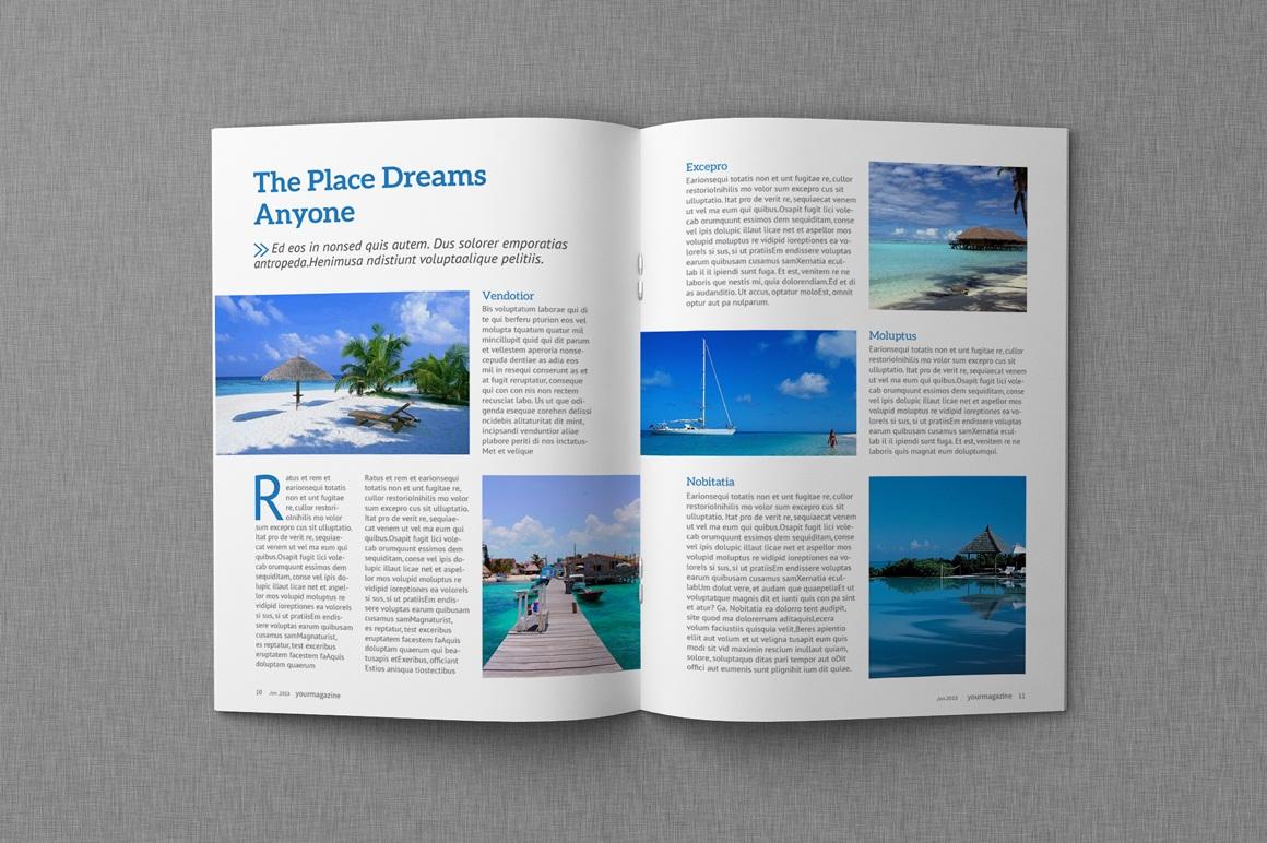 Magazine & Proposal InDesign Templates Dealjumbo Com