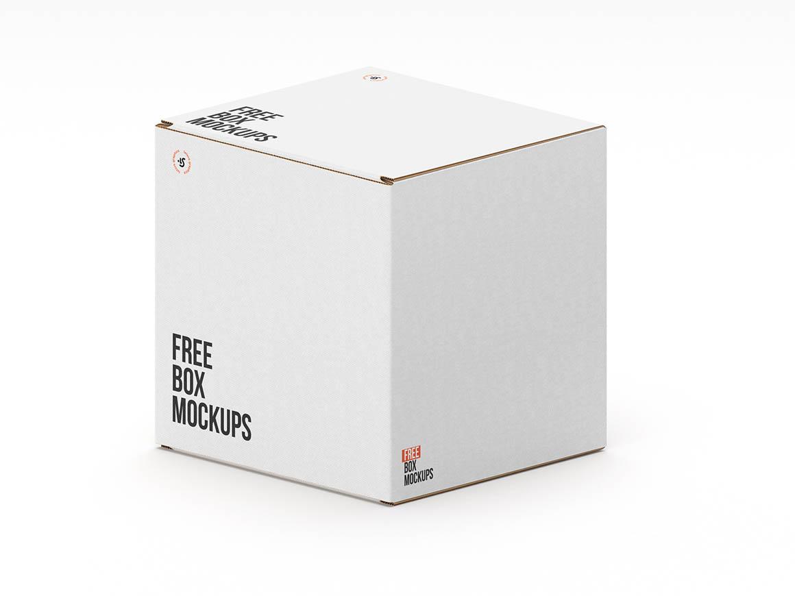 7 Free Paper Box Mockups  Dealjumbocom  Discounted