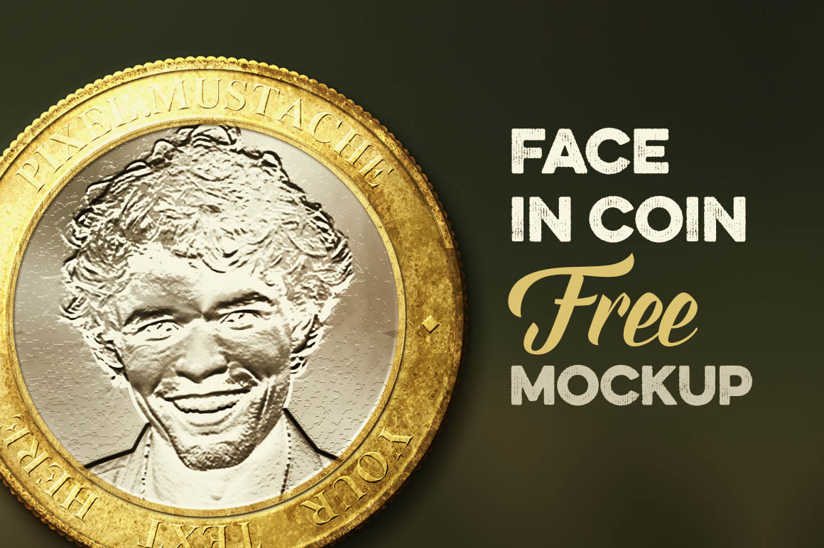 Face In Coin