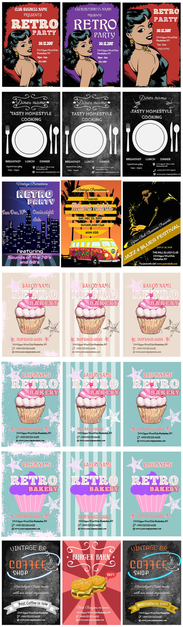 22 Business Flyer Templates