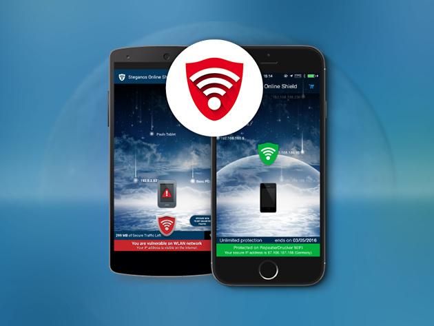 Steganos Online Shield VPN: Lifetime Subscription for $39