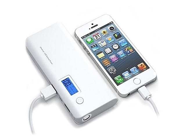 Portable 12,000mAh Power Bank for $39
