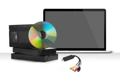 Video Digitization Device and Editing Software Package for $20