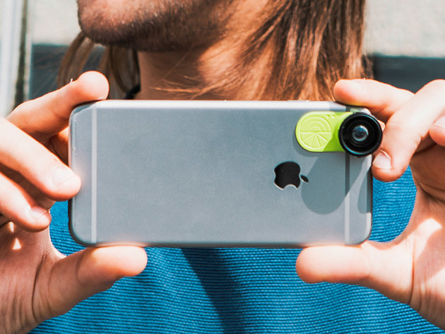 LimeLens Universal Smartphone Camera Lens Set for $39