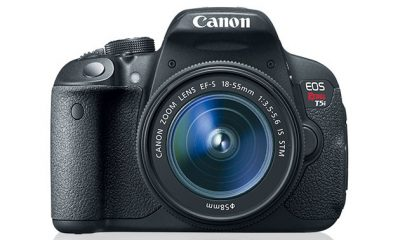 Canon EOS Rebel T5i DSLR Camera + 18-55mm IS Lens for $499