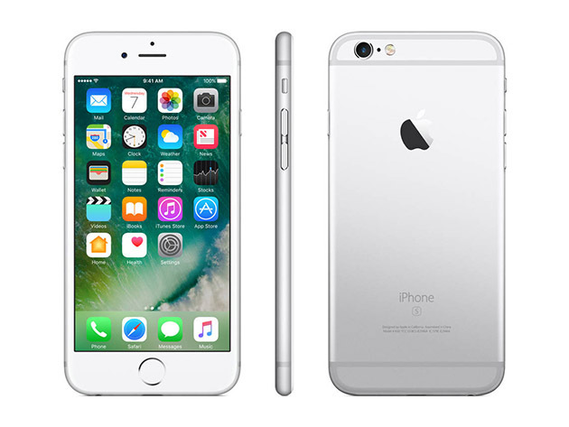 Apple iPhone 6S 128GB GSM Smartphone (Unlocked/Refurbished) for $449