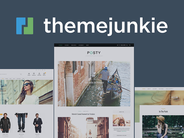 Theme Junkie WordPress Themes: Lifetime Subscription for $24