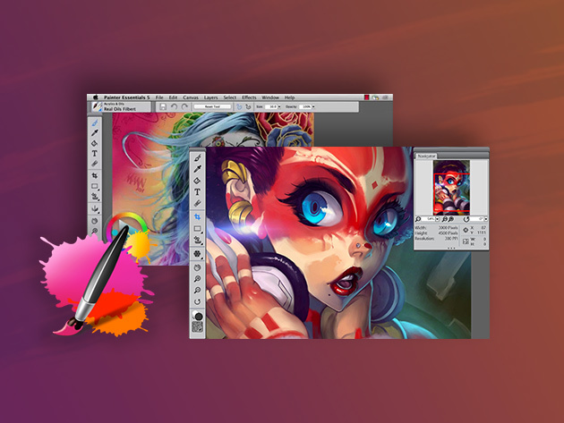 Corel Painter Essentials 5 for $24