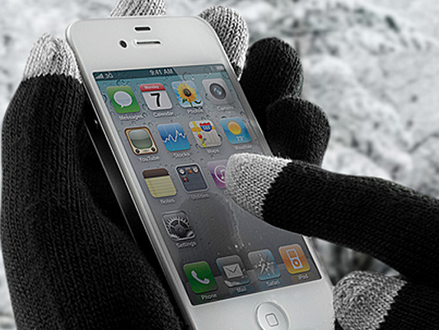 iGloves Touchscreen Gloves for $11