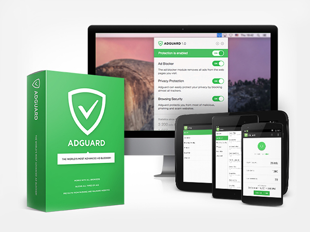 Adguard Premium: Lifetime Subscription for $34