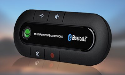 MultiPoint Bluetooth Car Speaker Phone for $42