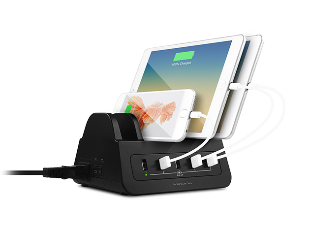 GorillaPower 5-Port USB & Power Dock for $59