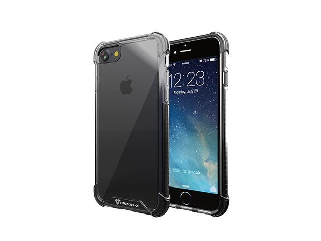 iPhone 7 Shockproof Dual TPE Case for $14