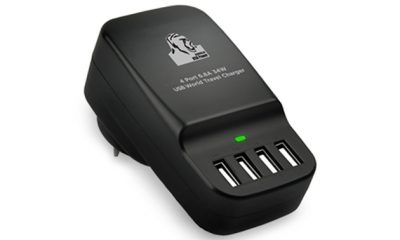 Gorilla Power 4-Port USB World Travel Charger for $27