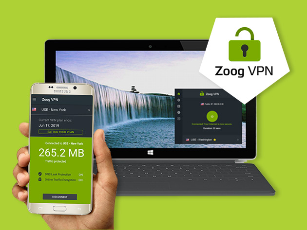 Zoog VPN: Lifetime Subscription for $39