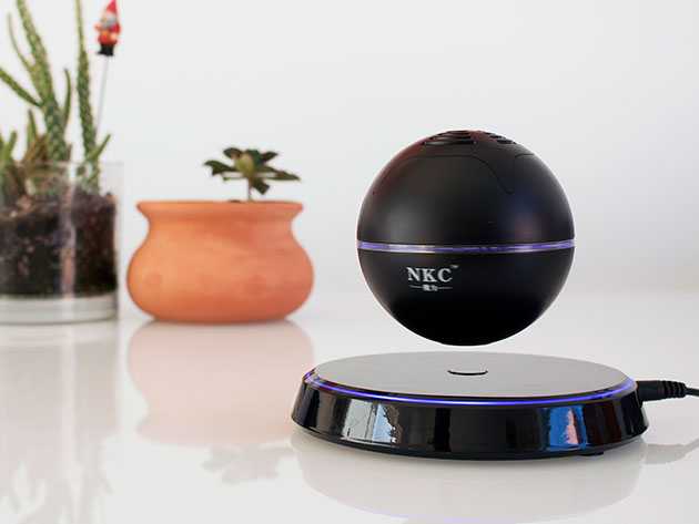Levitating Bluetooth Orb Speaker for $75