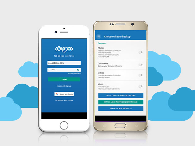 Degoo Premium: Lifetime 2TB Backup Plan for $59