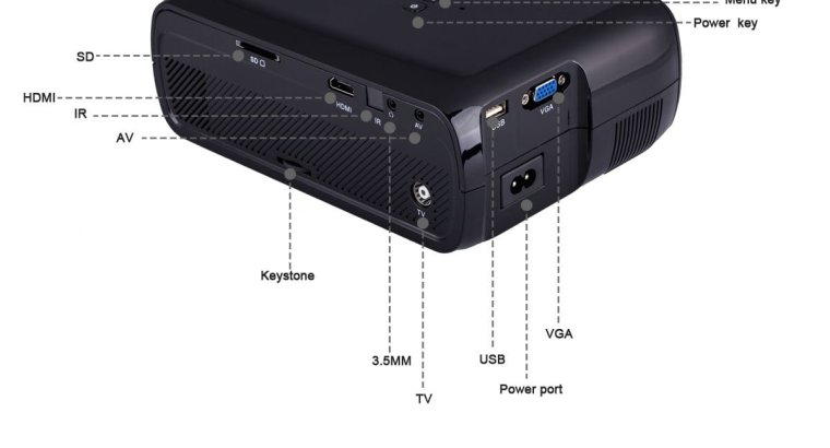 ANDROID 6.0 7000 LUMENS U80 PLUS BLUETOOTH HD 1080P HOME THEATER PROJECTOR MULTIMEDIA