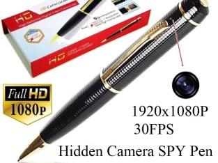 Full HD 1080P Spy Pen Camera Mini Pen Cameras 1080p HD Camcorder Surveillance DVR Camera