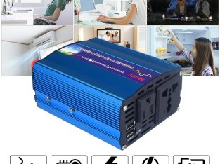 Modified Sine Wave 300 Watt Power Inverter 12VDC to 220VAC