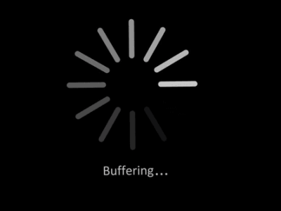 Internet streaming videos stop, pause, or buffer during playback.