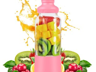 Mini portable USB rechargeable juice blender