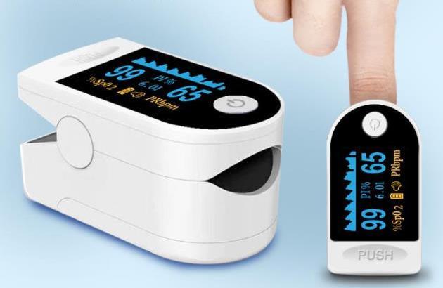 Pulse Oximeter OLED Screen