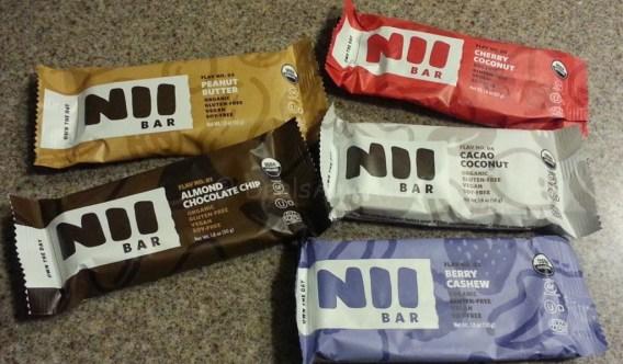 Nii Bars - 5 Flavors