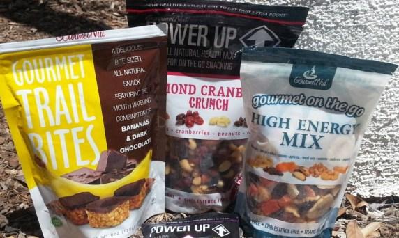 Gourmet Nut 3 items plus powerup