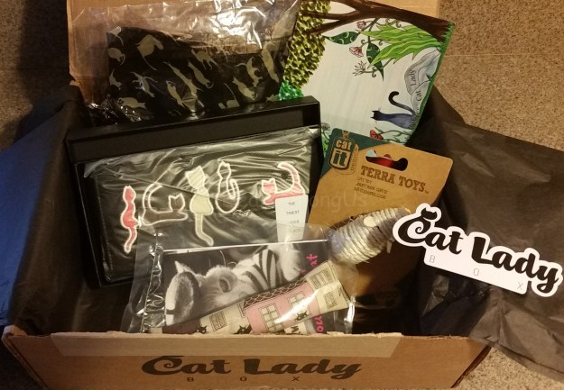 August 2015 Cat Lady Box