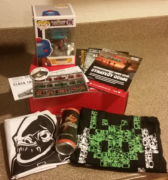 October Geek Fuel Box