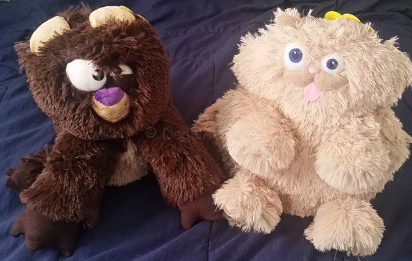 Bizarre Bear and Krazy Kitty Ugly Snuglies