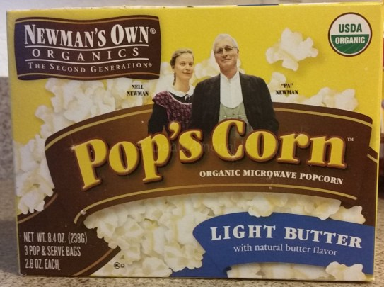 Newmans Own Organic Popcorn