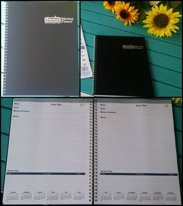 House of Doolittle Meeting Planner all angles
