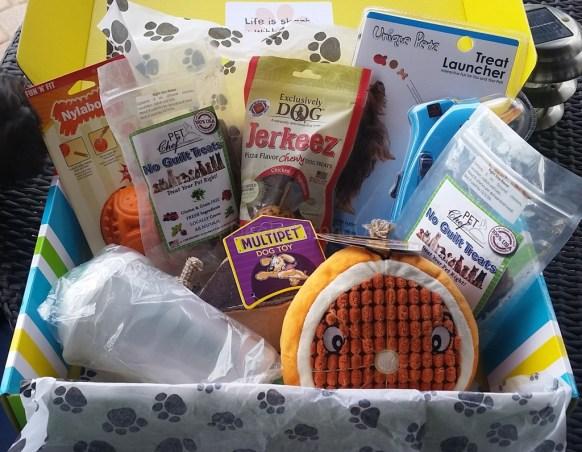 Pet Treater January Box