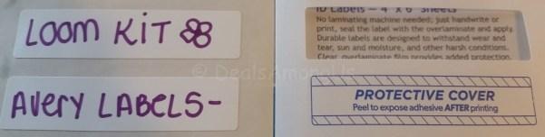 Avery Label Example 00757