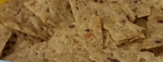 All chip closeup