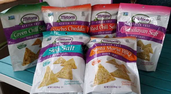 Miltons 6 pack baked chips