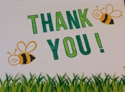 Thank You Bee using Avery Elle